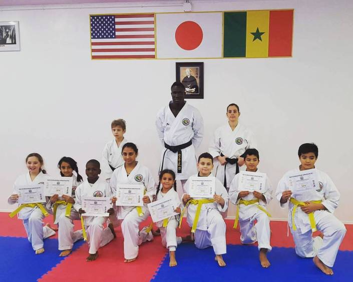 EGN yellow belt test